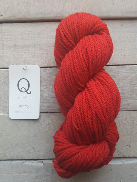 Quince & Co. Osprey Yarn in the color Peaks Ferry