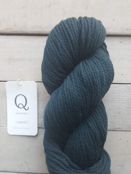 Quince & Co. Osprey Yarn in the color Slate
