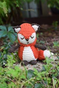 Woodland Fox Pattern by Susan B. Anderson