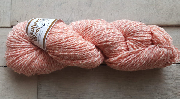 Shepherd's Wool Worsted in the color PeachesNCream