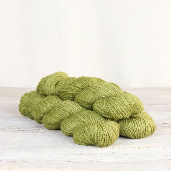 The Fibre Co. Road to China Light yarn in the color Peridot