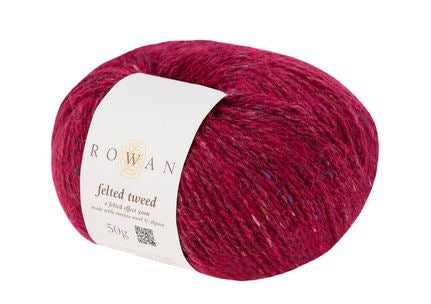 Rowan Felted Tweed Yarn in the color Rage