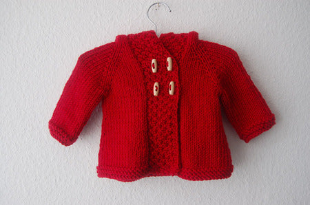 Red Riding Coat Pattern by Frogginette
