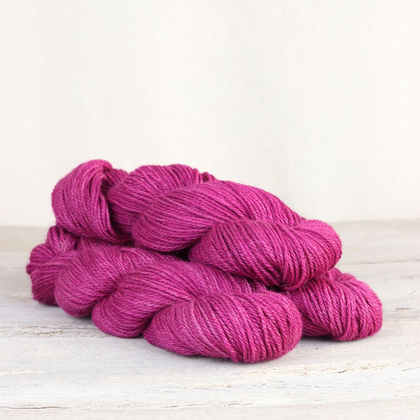 The Fibre Co. Road to China Light yarn in the color Rhodolite