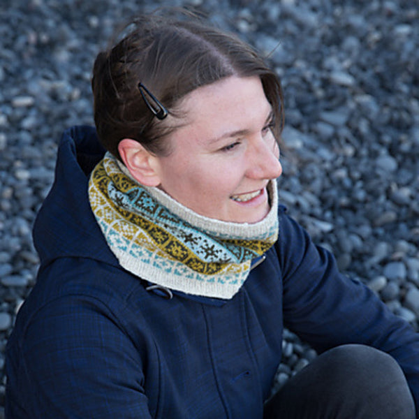 Compass Cowl by Tin Can Knits