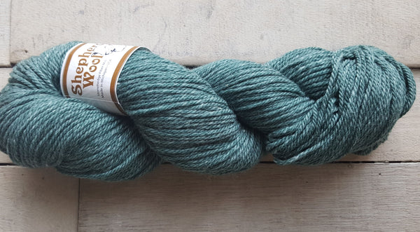 Shepherd's Wool Worsted in the color Sea Breeze