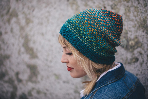 Shiftalong pattern by Drea Renee Knits