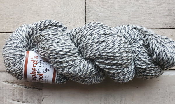 Shepherd's Wool Worsted in the color Smokey Marble