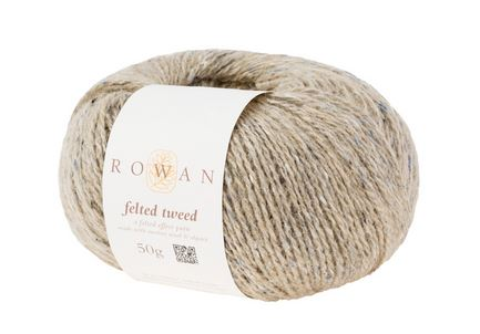 Rowan Felted Tweed Yarn in the color Stone 190