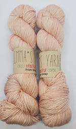 Emma's Yarn Super Silky in the color Himalayan Salt