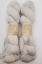 Emma's Yarn Super Silky in the color Jackie O