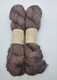 Emma's Yarn Super Silky in the color Driftwood