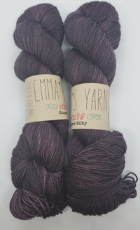 Emma's Yarn Super Silky in the color Twighlight