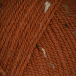 Plymouth Encore Worsted Tweed Yarn in the color T456 Spiced Pumpkin