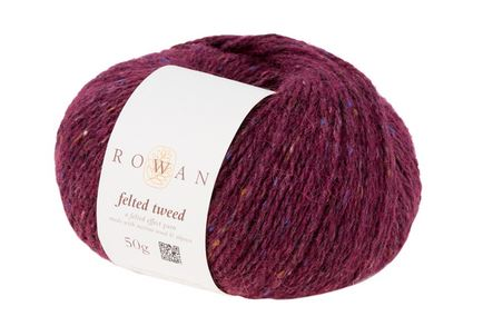 Rowan Felted Tweed Yarn in the color Tawny 186