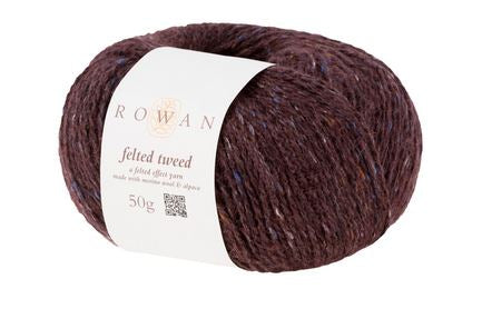Rowan Felted Tweed Yarn in the color Treacle