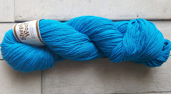 Shepherd's Wool Worsted in the color Turquoise