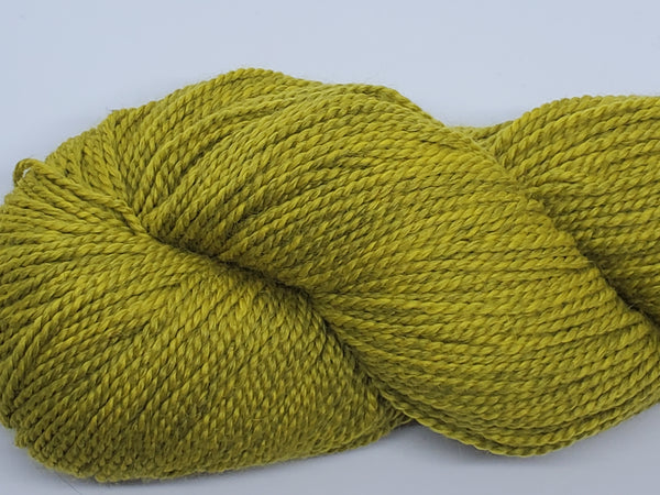 Mirasol Umina yarn in the color Chartreuse