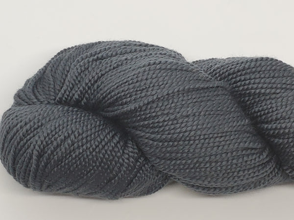 Mirasol Umina yarn in the color Charcoal (dark grey)
