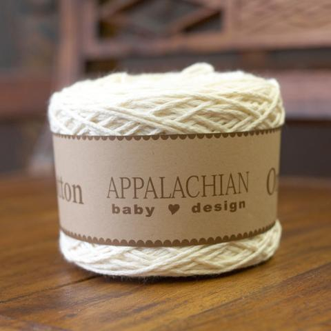 Appalachian Baby Cotton Yarn in the color Natural