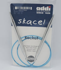 "addi turbo rocket knitting needle 32"" circular size US 11"