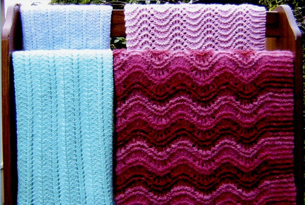 Ann Norling Pattern - Crib Blanket Afghan II