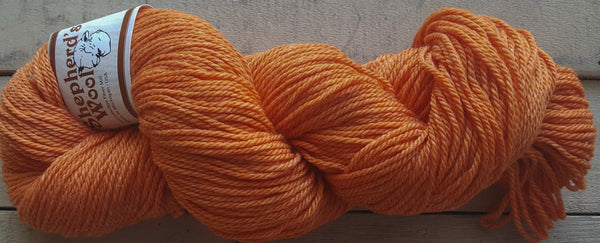 Shepherd's Wool Worsted in the color Creamsicle