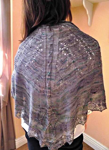 Forum Shawl Pattern by Paper Moon Knits