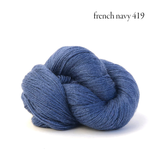 Kelbourne Woolens Perennial Yarn in the color French Navy