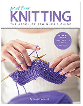 First Time Knitting by Carri Hammett
