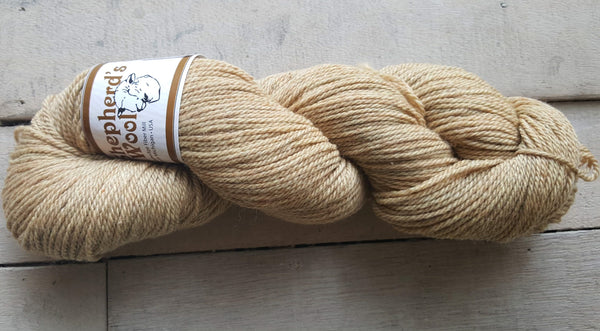 Shepherd's Wool Worsted in the color Harvest Wheat