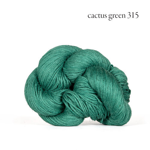 Kelbourne Woolens Mojave Yarn in the color Cactus Green