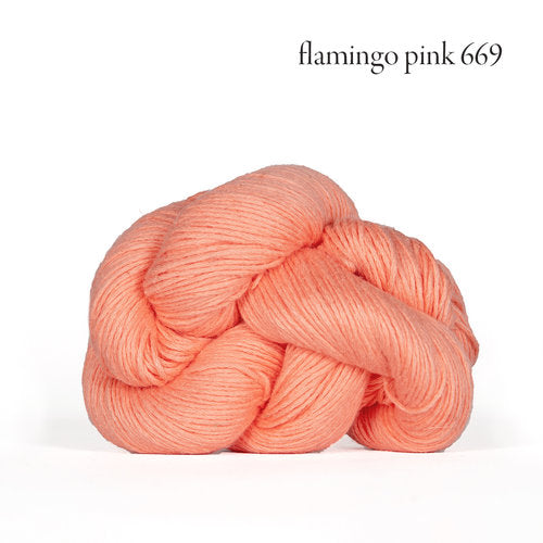 Kelbourne Woolens Mojave Yarn in the color Flamingo Pink