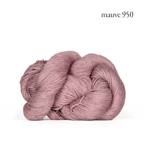 Kelbourne Woolens Mojave Yarn in the color Mauve