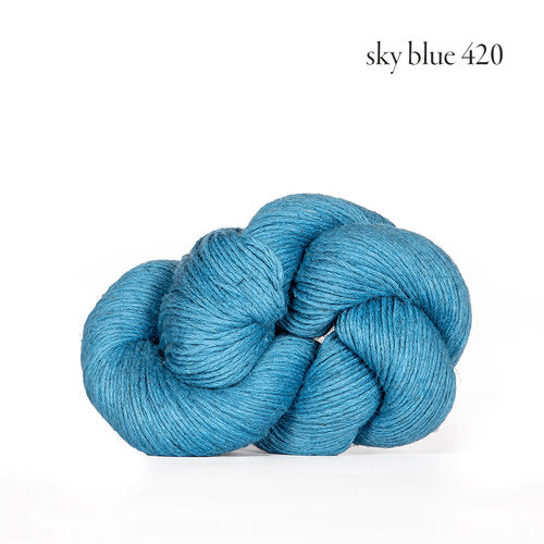 Kelbourne Woolens Mojave Yarn in the color Sky Blue