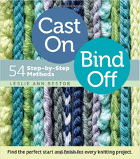 Cast On, Bind Off - 54 Step-by-step methods