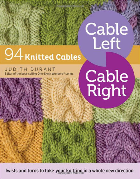 Cable Left, Cable Right - 94 Knitted Cables