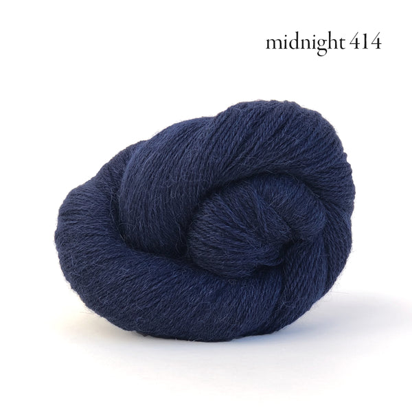 Kelbourne Woolens Perennial Yarn in the color Midnight