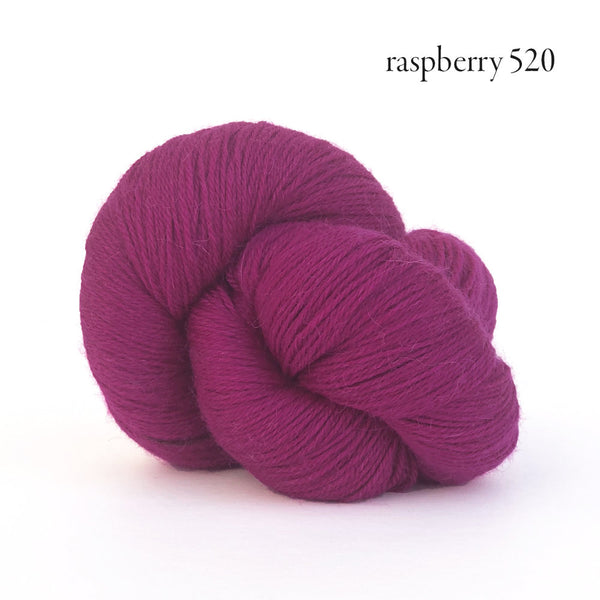 Kelbourne Woolens Perennial Yarn in the color Raspberry
