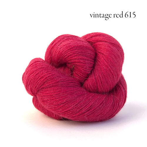 Kelbourne Woolens Perennial Yarn in the color Vintage Red
