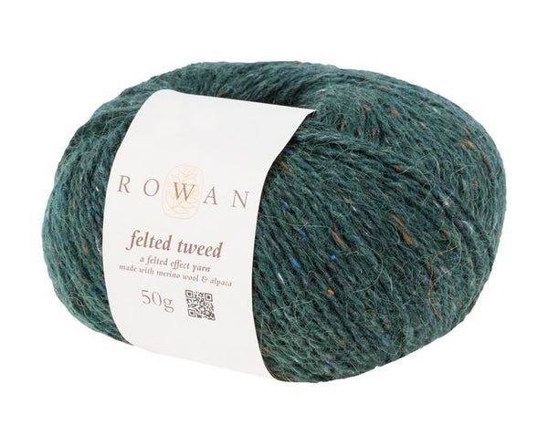 Rowan Felted Tweed Yarn in the color Pine 158