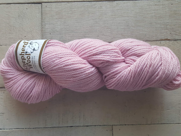 Shepherd's Wool Worsted in the color Pink