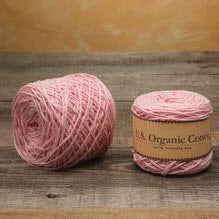 Appalachian Baby Cotton Yarn in the color Pink