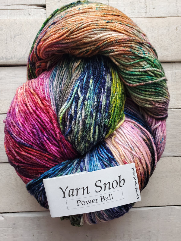 Yarn Snob Yarns Power Ball Worsted