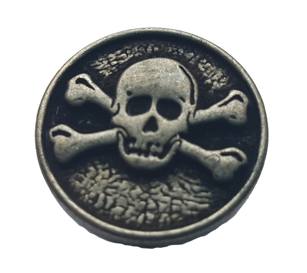 Full metal - Skull & Crossbones Button