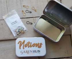 GarenHuis Notions Tin with Stitch Markers