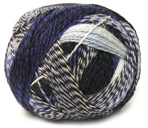 Zauberball Crazy Yarn in the color 2099