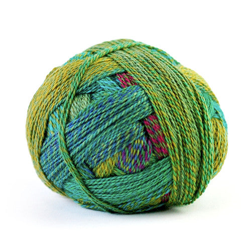 Zauberball Crazy Yarn in the color Tiefe Wasser 2404