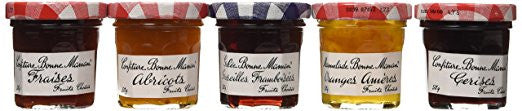 Bonne Maman Assorted Mini Jams - RudiGourmand