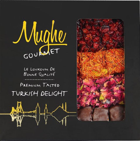 Luxury Assorted Turkish Delight - RudiGourmand